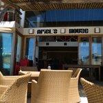 Bar, restaurant sur la plage
