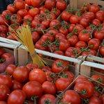 Рынок овощной и рыбный в центре Палермо