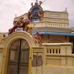 chettinad house-Muralitharan photo