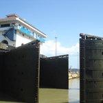 Lock Gates Panama Canal