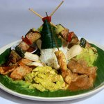 a traditional mix rice dishes