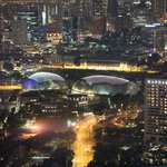 Esplanade from the Singapore Flyer