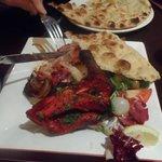 The Chicken Tikka Masala at Nobanno's