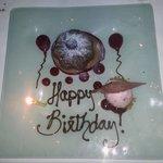 Chocolate Lava Birthday Cake