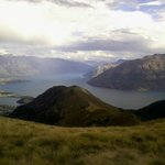 Views from Ben Lomond, above Queenstown.