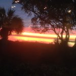 Sunset from the Sunset Coastal Grill Porch