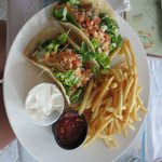 fish tacos at mango reef