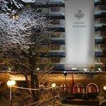 Hotel Aussenansicht Winter