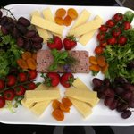 Deluxe Tour for Two Lunch Platter