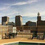 drury inn and suites rooftop pool area