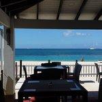 beachfront bar and restaurant