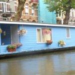 Casa barco Rio Amstel