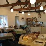 A cosy tearoom