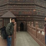 In front of iron pagoda