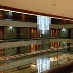 Hotel interior view suite level
