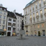 Statue of Gotthold Ephraim Lessing at the Judenplatz