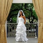 Bride on Estelle Balcony during Dressing of the Bride