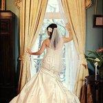 Bride in Estelle Suite during Dressing of the Bride