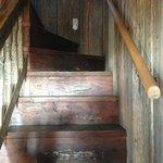 Slightly creepy staircase