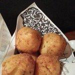Buñuelos de bacalao-- love the crunch and tastiness YUMMM