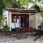 Back door/beach side of DBV