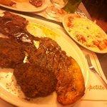 Carne, polpette e mitica insalata della nonna