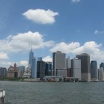 Another view from the ground of South Manhattan