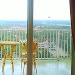 Balcony facing WDW, Disney suite