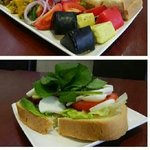 During the month of March we're bringing back our open sandwich menu