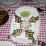 Succulent Tangdi Kabab at Roof Top Restaurant of Ajanta