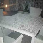 Table Ambience of Rooftop Restaurant at Ajanta Hotel