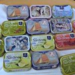 la carte des sardines millésimées!