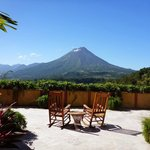 Arenal on a Clear Day