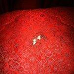 Plaide de lit trouer