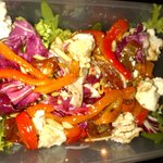 Goat Cheese & Pepper Salad