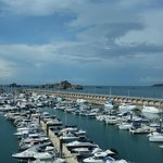 St Helier Marina - view from room