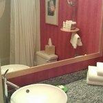 relatively spacious bathroom