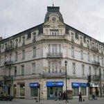 Buen hotel, enfrente de la plaza muñoz gamero