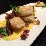 Roast shallot and aged white cheddar perogy with Duck Confit!