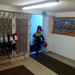 Помещение для лыж и ботинок
