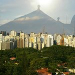 Vue du bar sur Sao Paulo