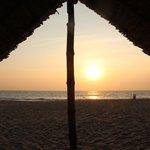 Un tramonto da incanto