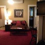 Sitting room in Baobab suite
