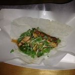 Rice Paper Fish Taco