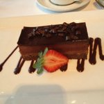 Chocolate Peanut Butter Mousse Torte
