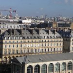 View of the hotel from the Paris Roue