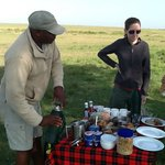 Breakfast on the Mara!