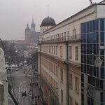 View from our room, very close to the main square
