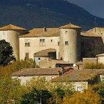 le chateau de Serviès-en-Val à 50m