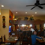 """""""Front"""" dining room and bar."""